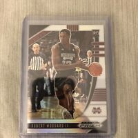 2020-21 Panini Prizm Draft Picks Robert Woodard II Silver #63 RC & Base - Kings
