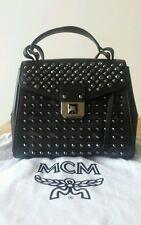 MCM Studded Shoulder Bag Black RRP £900+!