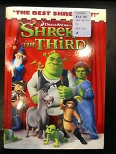 DreamWorks' Shrek the Third (Dvd, 2007, Widescreen Version) Sealed