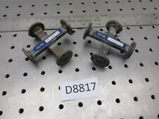2 Waveguide Crossguide Coupler Wr42 K Band D8815