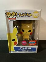 Funko POP! Flocked Pikachu NYCC 2020 Fall Convention Exclusive Target Pokemon