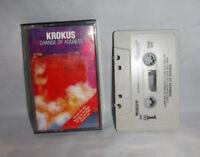 Krokus Cassette Change of Address 1986 Aristo Records