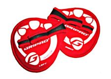 Gripad Classic Weight Lifting Crossfit  Grip Gloves Pad Red