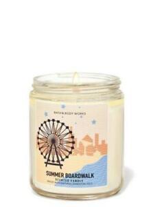 Summer Boardwalk Single Wick Candle by Bath and Bodyworks