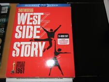 West Side Story , Blue-Ray Disc , 3-Disc Set ,50th Anniversary Edition ,  DVD