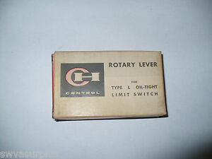 Cutler-Hammer 10316H-203C Rotary Lever, For Type L Oil-Tight Limit Switch, New