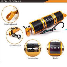 Bluetooth Motorcycle Audio Amplifier Stereo Waterproof Speaker MP3 USB/TF Handy
