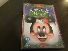 MICKEY'S TWICE UPON A CHRISTMAS - WALT DISNEY DVD - MICKEY MOUSE