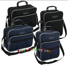 Flugumhänger Herrentasche Schultertasche  Arbeitstasche schwarz blau F008
