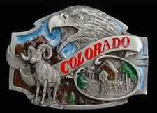 Nice Detail New! Buckles Colorado State Belt Buckle