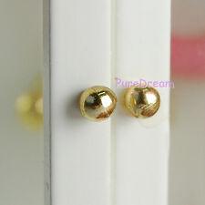 Wholesale Dollhouse Miniature Hardware Golden Rounded Handle Pull 24pcs OA00622