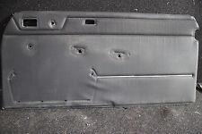 Mercedes Benz Türpappe vorne rechts W114 Coupe schwarz Chrom Türverkleidung /8