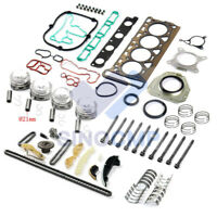 Ø21mm Engine Cylinder Overhaul Rebuild Kit For VW Audi Skoda 1.8 TSI BZB CDA CDH