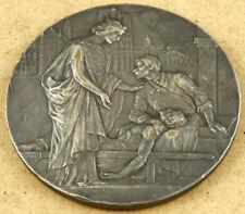 France Paris 1902 Centenary of the Internship in Medicine & Surgery Medal 69mm