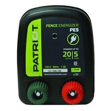 PATRIOT PE5 ELECTRIC 110V/AC FENCER 5 MILE/20 ACRE| FENCE ENERGIZER CHARGER POST