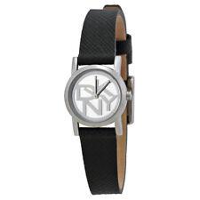 DKNY SoHo Pulse Black Saffiano Leather Ladies Watch NY2151