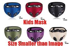 Kids Activated Carbon Face Mask Shield with filter Cycling Outdoor Ship From US