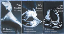 E L JAMES Fifty Shades of Grey Erotic Trilogy 50 Shades Darker 50 Shades Freed