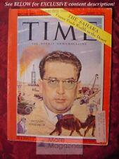 TIME August 17 1959 Aug 8/59 JACQUES SOUSTELLE SAHARA +