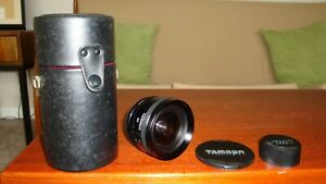 Tamron SP 151B 17mm f3.5 Adaptall 2 Lens. Exc Condition
