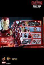 Hot Toys Iron Man Mark 46 MMS353D16 Captain America Civil War Robert Downey Jr
