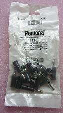 Pomona Electronics Banana Plugs Black 1825-0 (10 PCS) #TQ342
