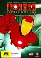 Iron Man Armored Adventures : Vol 2 (DVD, 2009) NEW SEALED