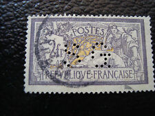 FRANCE - timbre - Yvert et Tellier n° 122 obl (perfore) (A3) stamp french