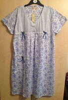 LADIES  NIGHTIE NIGHT DRESS UK SIZES M (8/10) L (10/12), XL (12/14) XXL (14/16)