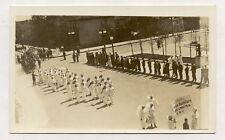 RPPC DENVER RED CROSS NURSES PARADE OLD POSTCARD PC4863