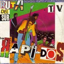 LOS RAPIDOS-RUTA DEL SUR + T.V. SINGLE VINILO 1981 PROMOCIONAL SPAIN RARE B-EX