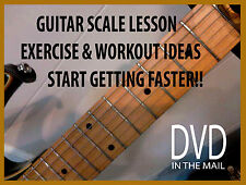 Lead Guitar Lesson DVD Guitar Scales for Rock, Metal & Shredding fast licks
