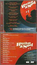 CD - RHYTHM ET SOUL N° 1 avec STEVIE WONDER, MARVIN GAYE, GLORIA GAYNOR, JACKSON