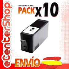 10 Cartuchos de Tinta Negra NON-OEM HP 920XL - Officejet 7500 A