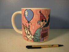 "Maxine Giant Birthday Mug Hallmark Shoebox Greetings ""Old Age is In Your Mind"""