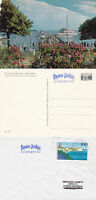 GERMAN RIVER CRUISE SHIP MS SEESHAUPT A SHIPS CACHED COVER & A COLOUR POSTCARD