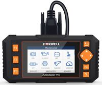 Foxwell NT634 OBD OBD2 Scanner Engine ABS SRS Transmission Scan Tool 11 Reset