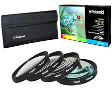 Polaroid Optics 55mm 4 Piece Close Up Camera Lens Filter Set (+1, +2, +4, +10)