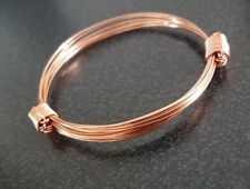 Copper Elephant Hair Bracelet