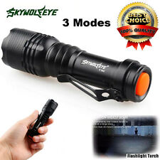 5000LM CREE Q5 AA/14500 3 Modes ZOOMABLE focus LED Super Bright Flashlight Torch