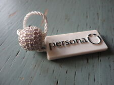 persona sterling silver european round charm bead lilac crystals $65.