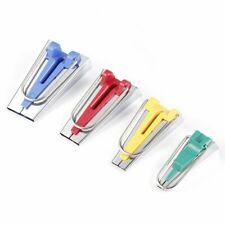 4 Size Fabric Bias Tape Maker Tool Kit Set 6mm/12mm/18mm/25mm Sewing om
