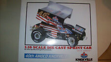 40TH Amoco Knoxville Nationals 1/18 GMP Sprint Car