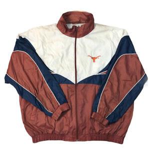 Vtg 90s Texas Longhorns UT Jacket Pants Pro Player Track Suit Windbreaker XXL