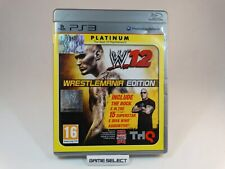 WWE 12 Wrestling 2012 Wrestlemania Edition Sony ps3 PAL ITA Italian Complete