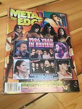 Kiss Metal Edge 1996 Year Review Magazine Reunion Era Paul Stanley