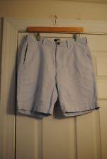 J crew Grammercy Shorts -Size 30 -  Blue & White Pinstripes - EUC!