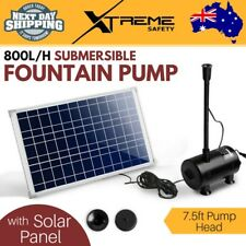 Indoor and Outdoor 800L/H Submersible Fountain Brushless DC Pump w/ Solar Panel