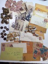 ESTATE: CIVIL WAR STARTER LOT:COINS+STAMPS+BULLETS+COLLECTIBLES+MILITARIA++