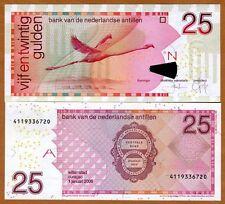 Netherlands Antilles 25 Gulden, 2006, Pick 29 (29d), UNC